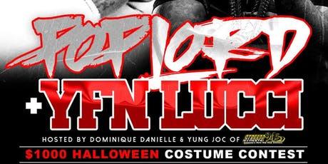 $1,000 Halloween Contest with YFN Lucci and Pop Lord tickets