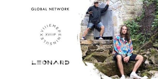 Afterwork électronique de Leonard