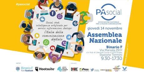 Assemblea nazionale biglietti