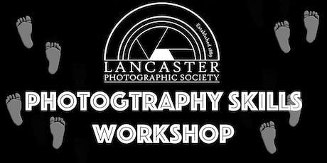 Photography skills workshop tickets