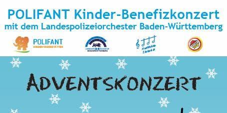 POLIFANT Benefizkonzert mit dem Landespolizeiorchester Baden-Württemberg