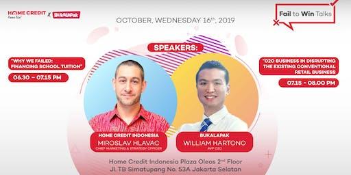 Fail to Win Talks: Home Credit Indonesia x Bukalapak