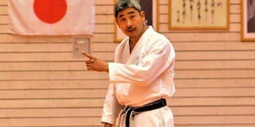 Stage avec Okuma Sensei Expert Japonais 6ème DAN JKA