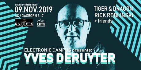 YVES DERUYTER goes Aachen Tickets