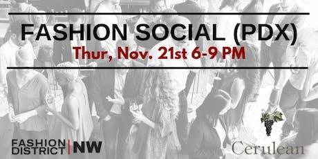 Fashion Social (PDX) tickets