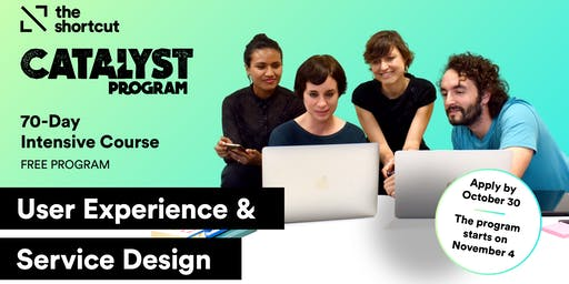 Catalyst Program UX & Service Design Edition - 2nd Info Session