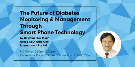 Managing Diabetes - GAIA Health (ELDEX Asia 2019) tickets