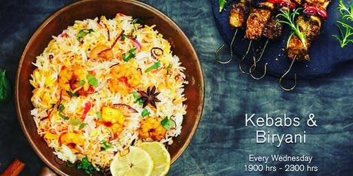 Kebabs and Biryani