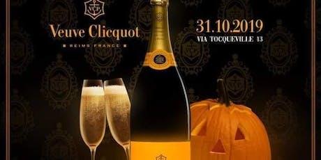 Halloween Veuve Clicquot Party | Temporary Space - AmaMi Communication biglietti