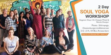The Soul Yoga Meditation Workshop tickets