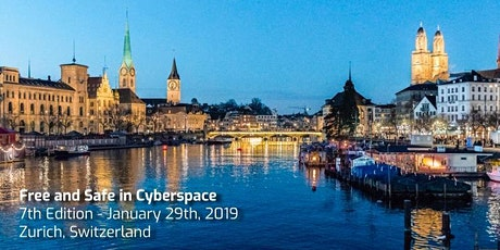 Free and Safe in Cyberspace - 7th Edition - Zurich Tickets