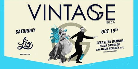VINTAGE BY SEBASTIAN GAMBOA tickets