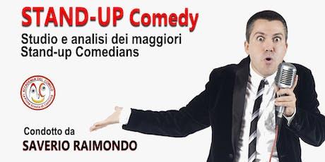 Studio e analisi dei maggiori Stand-up Comedians biglietti