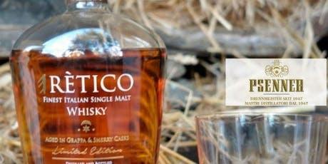 Degustazione eRètico Whisky (Fine Italian Single Malt) biglietti