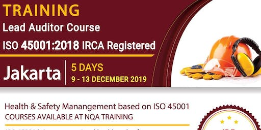 Lead Auditor Course ISO 45001:2018 - IRCA Registered - IDR 7.990.000,-