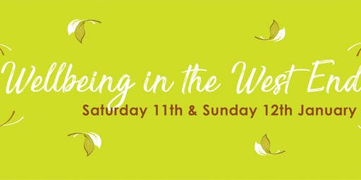 Wellbeing in the West End Festival 2020