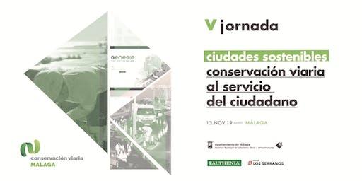 V Jornada Conservación Viaria
