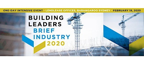 BUILDING LEADERS BRIEF INDUSTRY 2020 tickets