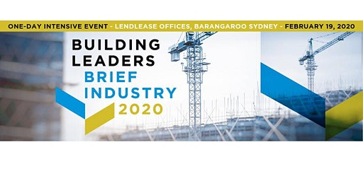 BUILDING LEADERS BRIEF INDUSTRY 2020
