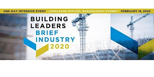 BUILDING LEADERS BRIEF INDUSTRY 2020