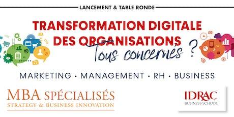 Transformation Digitale des entreprises... Tous concernés ? billets