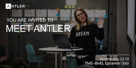 Meet Antler | Wed. Oct. 23th tickets