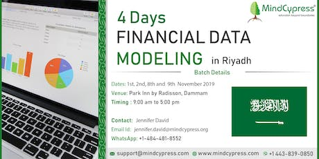 Financial Data Modeling 4 Days Training by MindCypress at Riyadh tickets