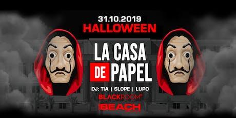 HALLOWEEN 2019 - Casa de Papel Party - Thursday 31 Ottobre - The Beach Club biglietti