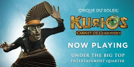 Cirque du Soleil in Sydney - KURIOS - Cabinet of curiosities tickets