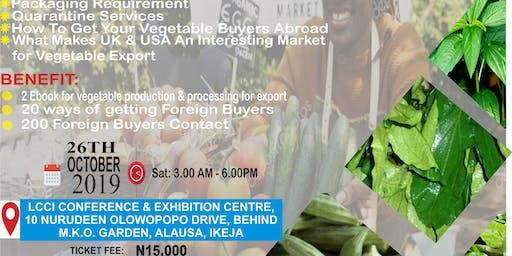 Vegetable Export Seminar