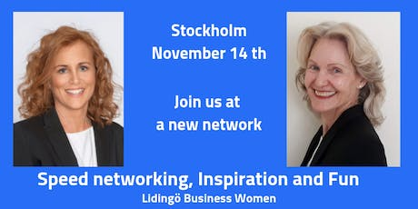 Speed Networking for Women in Stockholm tickets