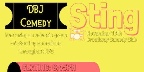 DBJ Comedy: Sting tickets