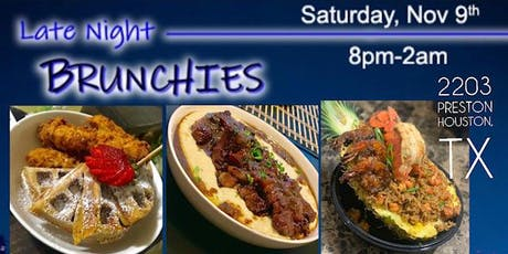 """""""Late Night Brunchies"""" w/ Chef K Michael tickets"""