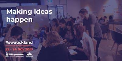 Startup Weekend Auckland Nov 2019