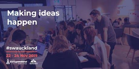 Startup Weekend Auckland Nov 19 billets
