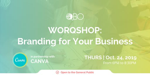 WORQSHOP: Branding for Your Business with Canva