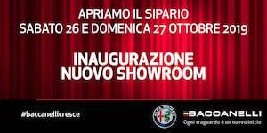 Inaugurazione nuovo showroom Alfa Romeo - Baccanelli...