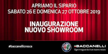 Inaugurazione nuovo showroom Alfa Romeo - Baccanelli SPA biglietti