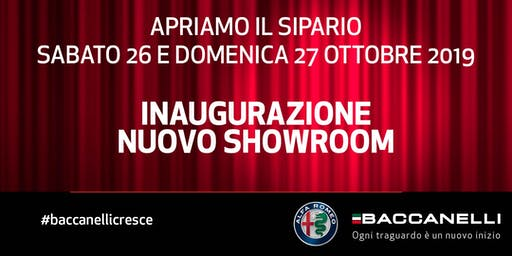 Inaugurazione nuovo showroom Alfa Romeo - Baccanelli SPA