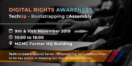 Digital Rights Awareness - TechUp series tickets