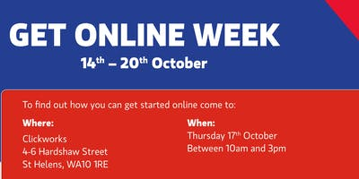 Get Online Week - get more out of life by getting online!
