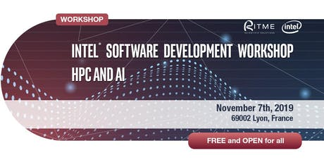 Intel® Software Development Workshop HPC and AI tickets