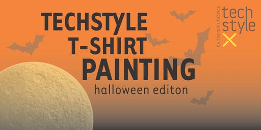Techstyle T-Shirt Painting *Halloween Edition