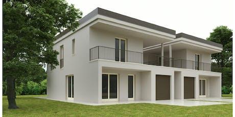 Cantiere aperto Villa in legno a Noceto biglietti