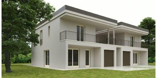 Cantiere aperto Villa in legno a Noceto