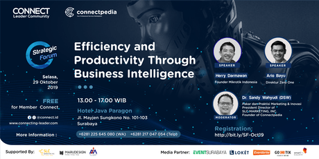 Efficiency & Productivity Through Business Intelligence (Paid Event) tickets