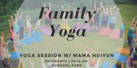 Family Yoga in the Park tickets