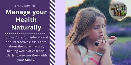Supporting Moms and Babes Naturally - an introduction to Essential Oils.