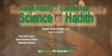 Science of Hadith tickets