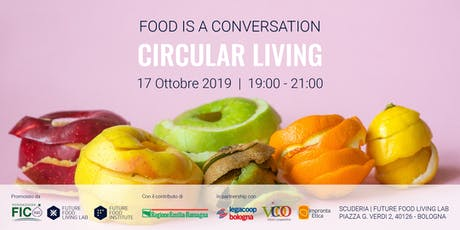 Food Is A Conversation: Circular Living biglietti